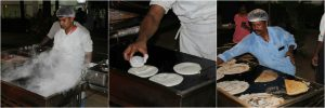 Chefs in action - Yummy dosas being prepared